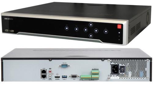 DS-8616NI-K8 - 16-ти канальный сетевой видеорегистратор с разрешением записи до 8МP, воспроизведения до 4К и с 8-ю SATA-интерфейсами.