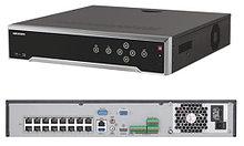 DS-7732NI-I4/16P - 32-х канальный сетевой 12МP-видеорегистратор с 4-мя SATA-интерфейсами и 16-ю РоЕ-портами.