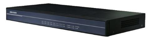 DS-3A016R-M - 16 канальный приёмник видеосигнала по оптоволокну.