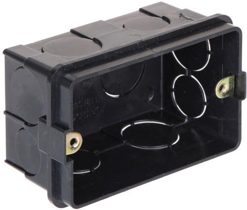 DS-KAB118 - Монтажная коробка (бокс) для установки вызывных видеопанелей видеодомофонов врезным способом.