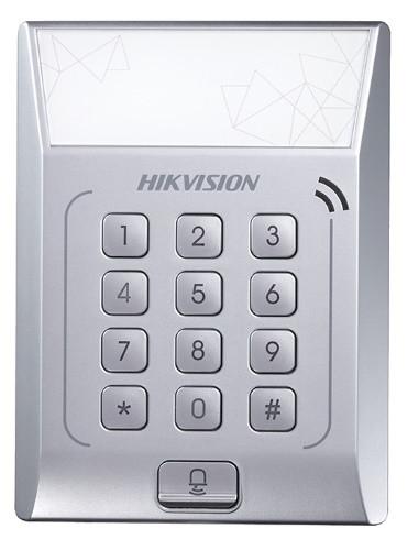 DS-K1T801E - Терминал контроля доступа со встроенным считывателем EM-карт.