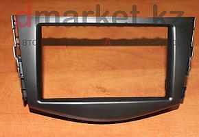 Переходная рамка Toyota RAV-4, 2DIN, пластик, черная