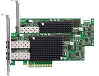 Emulex Контроллер 16Gb/s FC HBA Dual Channel PCI-E (LPe16002B-M6)