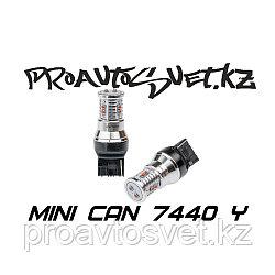 Светодиодная лампа Optima Premium MINI 7440 желтая с обманкой