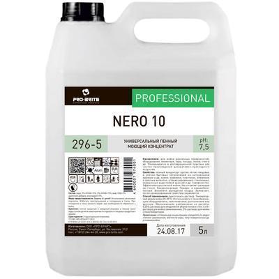 NERO 10 Пенный моющий концентрат для уборки твёрдых поверхностей в т.ч. Полов, фото 2