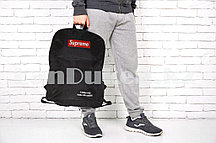 Рюкзак с боковыми карманами Supreme, черный