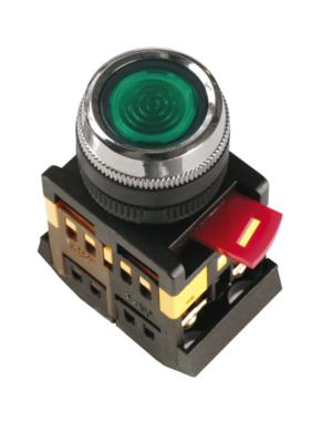 """Кнопка SB-7 """"ПУСК"""" (зеленая Ø22мм) IEK , фото 2"""