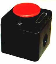 Кнопка ПКЕ 222-1 (кнопка красная), фото 2