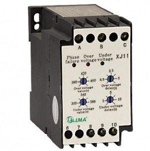 Реле контроля фаз и напряжения XJ11(РКФН-11Л) 380V, фото 2