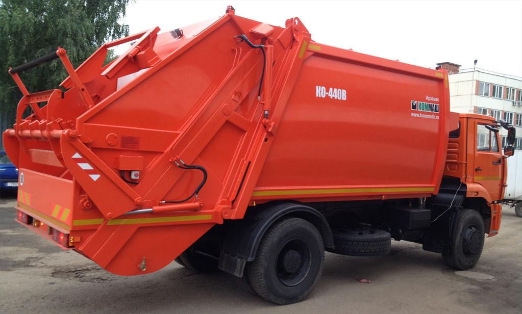 камаз мусоровоз ко 440