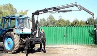 Подъемник монтажный на тракторе МТЗ 12 метров