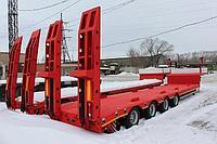 Прицеп одноосный роспуск длинномерных грузов 5-15 метров
