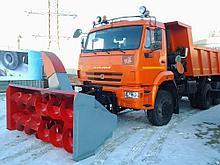 Шнекороторный снегоочиститель Камаз Урал