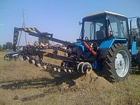 Щелерез на базе трактора МТЗ Белорус