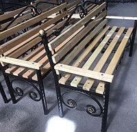 Кованые лавочки и скамейки