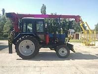 Автовышка на тракторе МТЗ 12 метров, фото 1