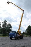 Автогидроподъемник телескоп 25 метров, фото 4