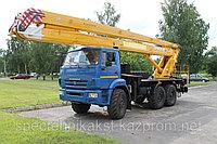 Автогидроподъемник шасси Урал, фото 1