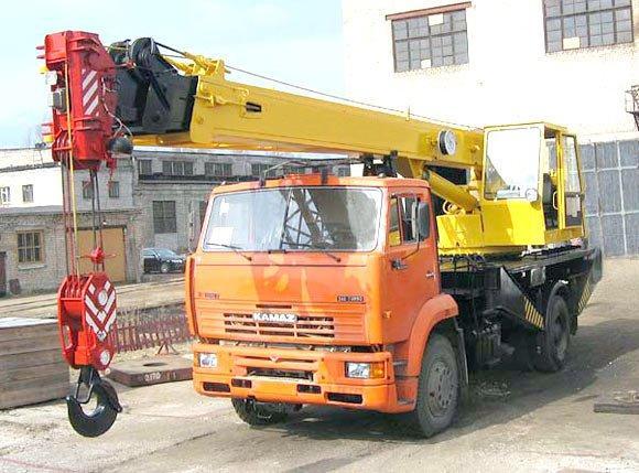 Автокран 16 т ЕВРО-3-4