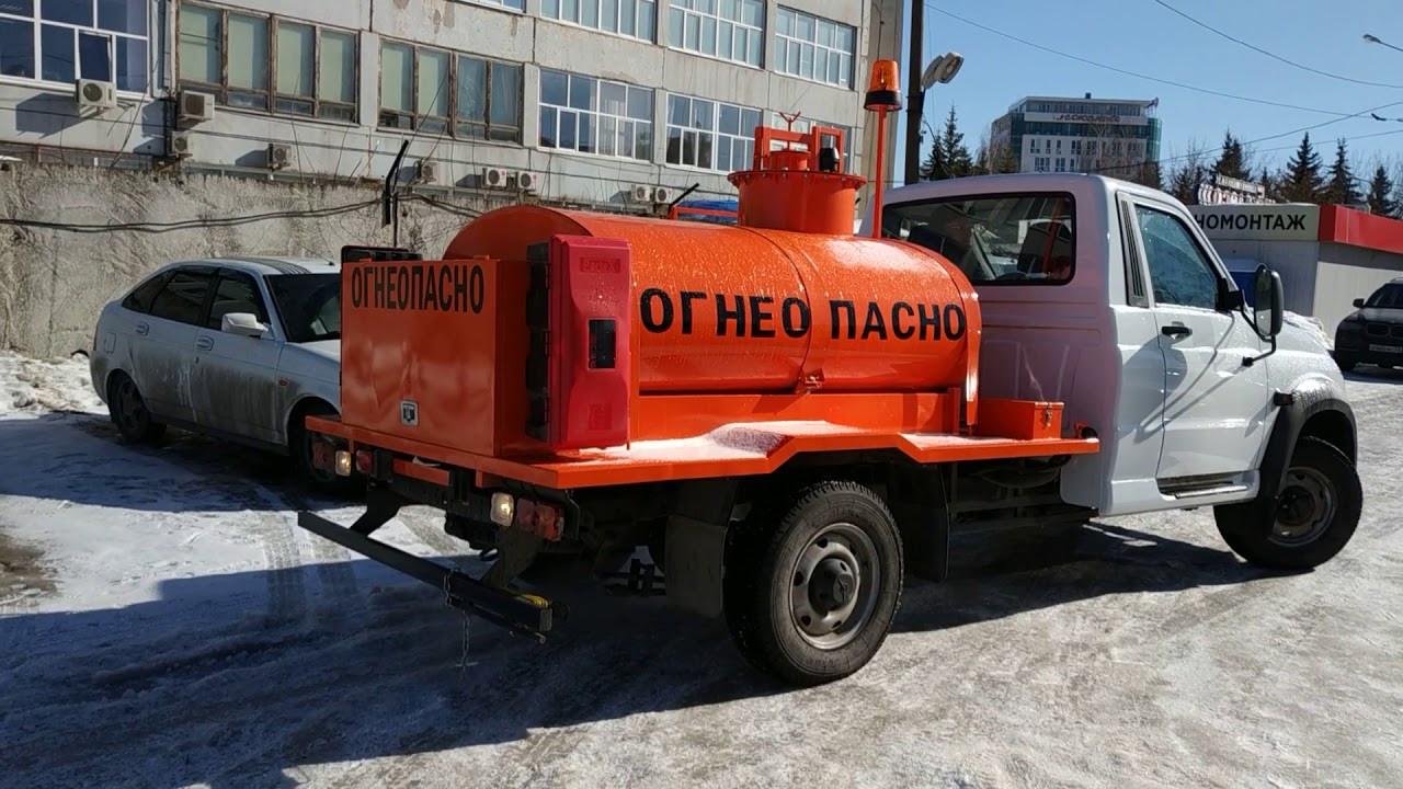 Автотопливозаправщик УАЗ 1500 литров