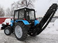 Бара на базе трактора МТЗ Белорус