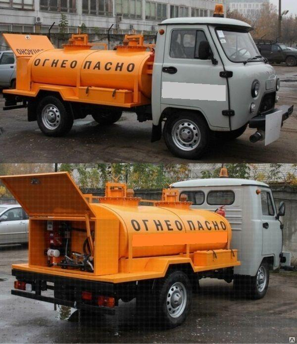 Бензовоз УАЗ 1500 литров