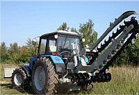 Грунторез на базе трактора МТЗ Белорус