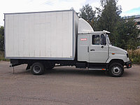 Изотермический фургон ЗИЛ-5301 Бычок