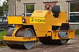Каток пневмошинный двухвальцевый 9 - 13 тонн, фото 3