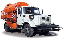 Машина коминированная уборочная МДК (КО-829) шасси ЗИЛ