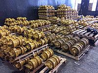 Запасные части к бульдозерам. Каток поддерживающий, опорный, двубортный, однобортный на бульдозер и экскаватор