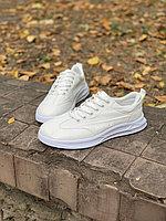 Кеды белые шнурки беспланая доставка по городу