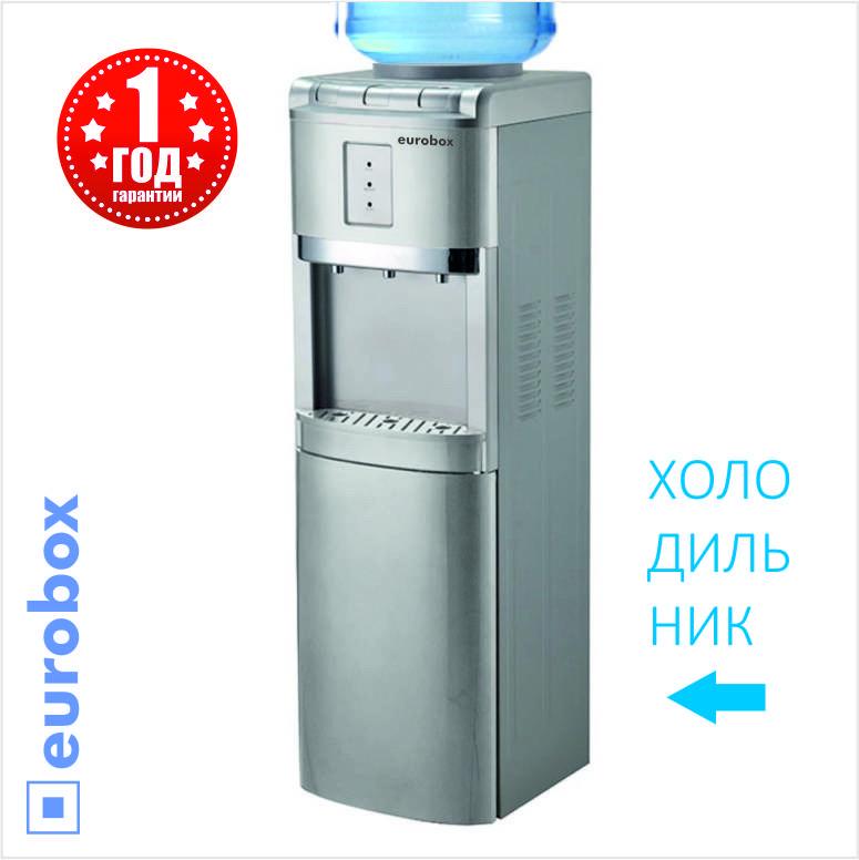 Диспенсер кулер для воды с Холодильником