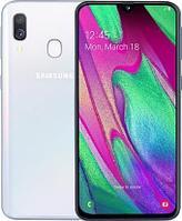 Samsung Galaxy A40 White, фото 1