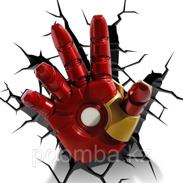 """Светильник 3D deco light - """"Рука железного человека"""""""