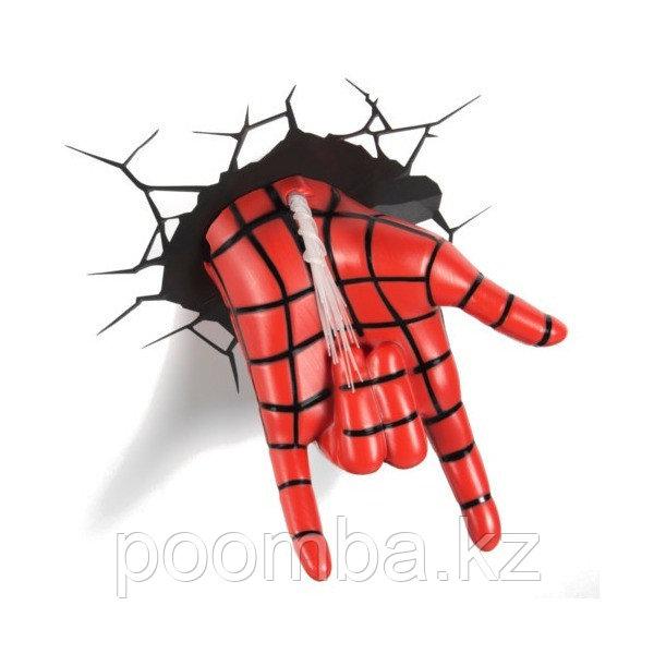 """Светильник 3D deco light - """"Рука человека паука"""""""