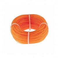 Леска строительная, 100 м, D 1 мм, оранжевый Сибртех