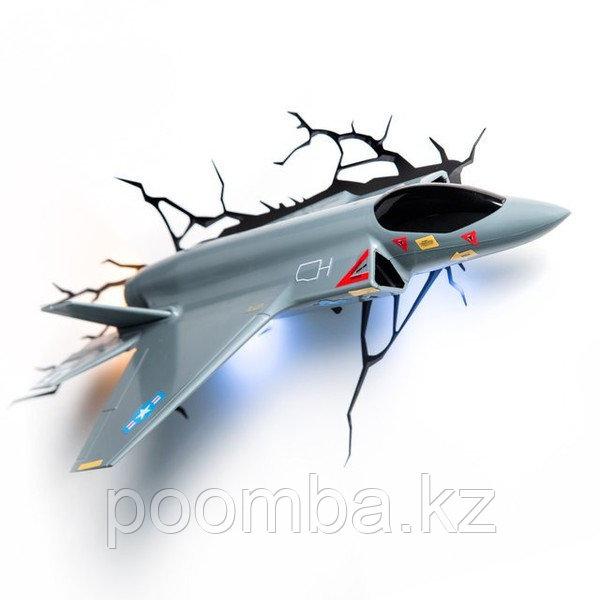 """Светильник 3D deco light - """"Военный самолет"""""""