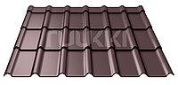 Металлочерепица Ruukki Decorrey Grand ROUGH MATT 1190x800x0.45mm (0,952м2) RR32/ЛЕСНОЙ ОРЕХ
