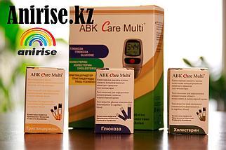 Экспресс анализатор ABK Care in для измерения глюкозы, холестерина и триглицеридов в крови, фото 2