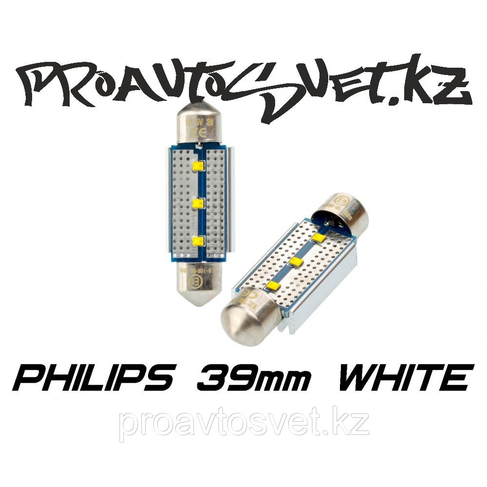 Светодиодная лампа Optima Premium PHILIPS CAN Festoon 39 mm белая с обманкой