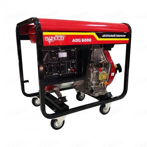 Дизельный генератор однофазный ALTECO ADG 6000 (L)