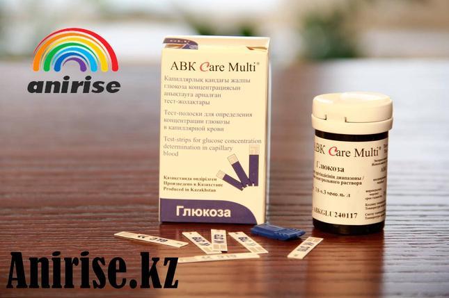 Тест полоски глюкозы АВК Care Multi №50, фото 2