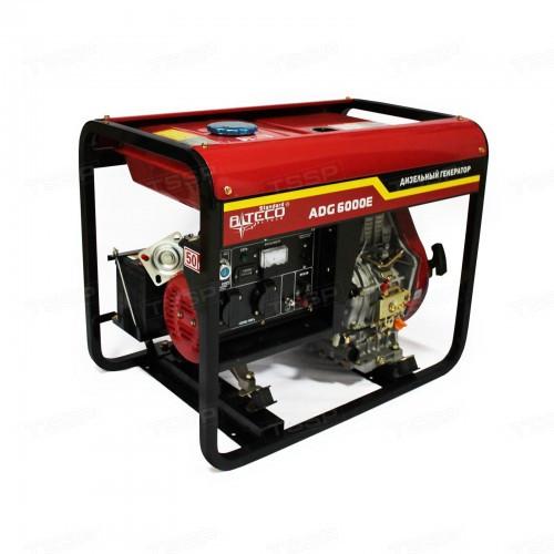 Дизельный генератор однофазный Alteco ADG 6000Е (L)