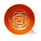 Поющая чаша Оранжевая, диаметр 11.5 см, фото 3