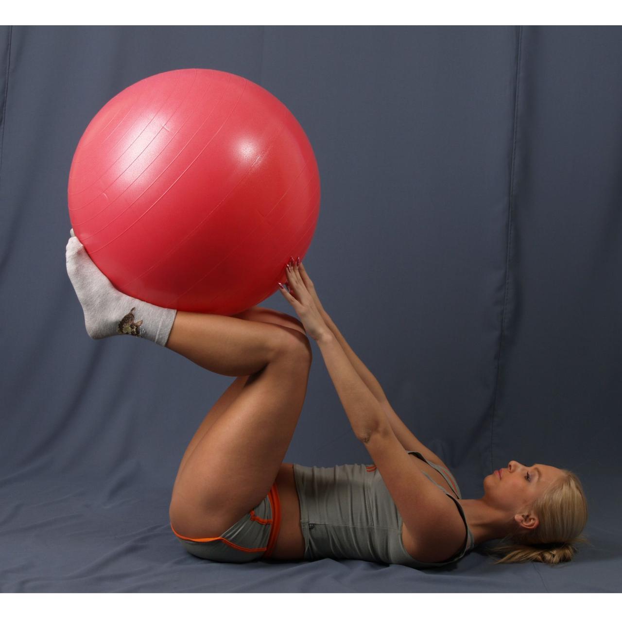 Гимнастический мяч (фитбол) 60 см - фото 5