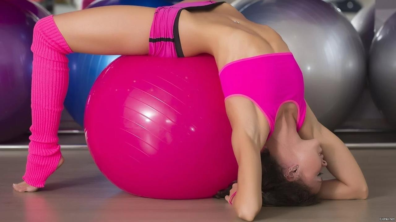 Гимнастический мяч (фитбол) 60 см - фото 7