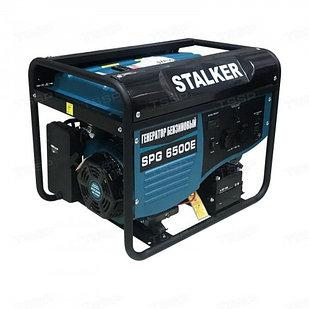 Генератор бензиновый однофазный STALKER SPG 6500E (N)