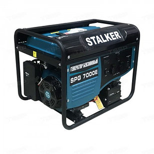 Однофазный генератор бензиновый STALKER SPG 7000E (N)