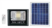 Прожектор на солнечной батарее  60W